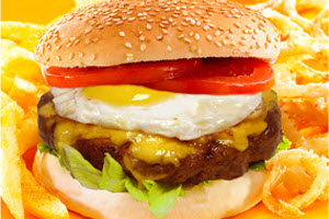 1/4 Pounder Burger with Cheese & Egg