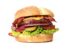 1/4 Burger with Cheese & Bacon