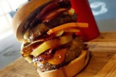Special Burger with Cheese